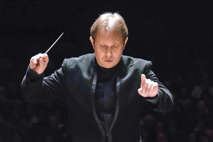 Guest conductor Ludovic Morlot is music director of the Seattle Symphony. (Photo by Brandon Patoc)