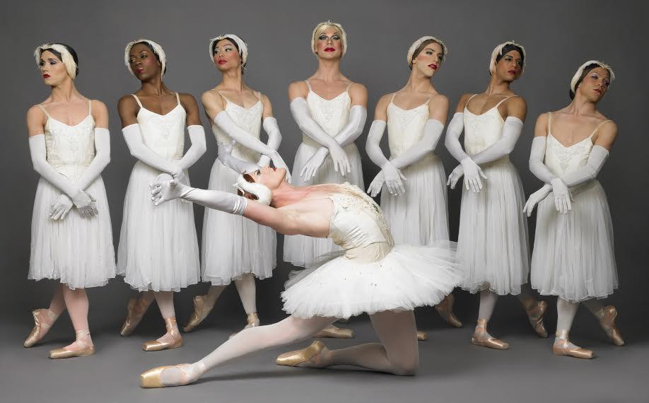 Les Ballets Trockadero de Monte Carlo mixes classical ballet with classic humor. (Photo by Sascha Vaughan)