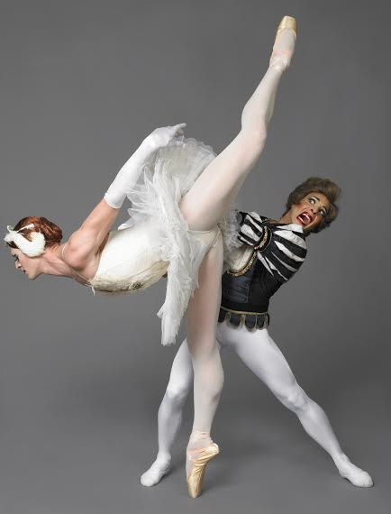 The troupe has its own take on Swan Lake (Photo by Sascha Vaughan)