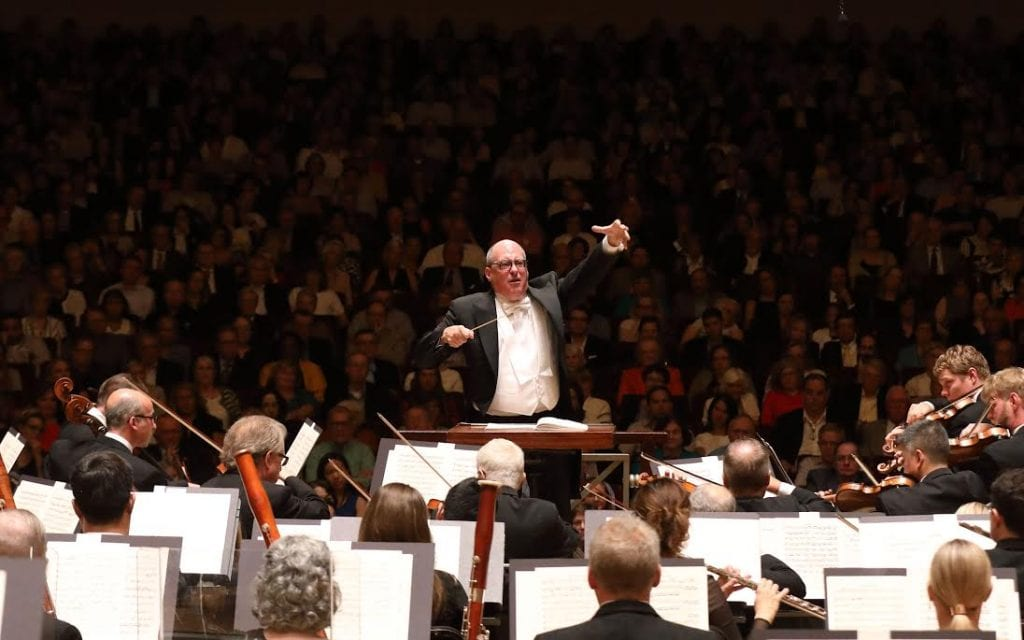 Spano led the orchestra before a full house at Symphony Hall.