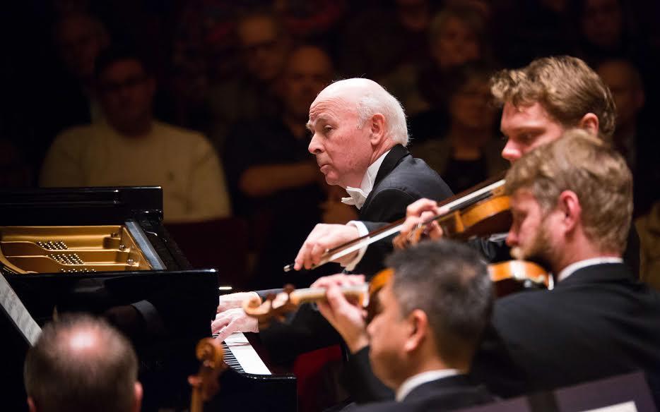 Pianist Jorge Federico Osorio deftly played Brahms.