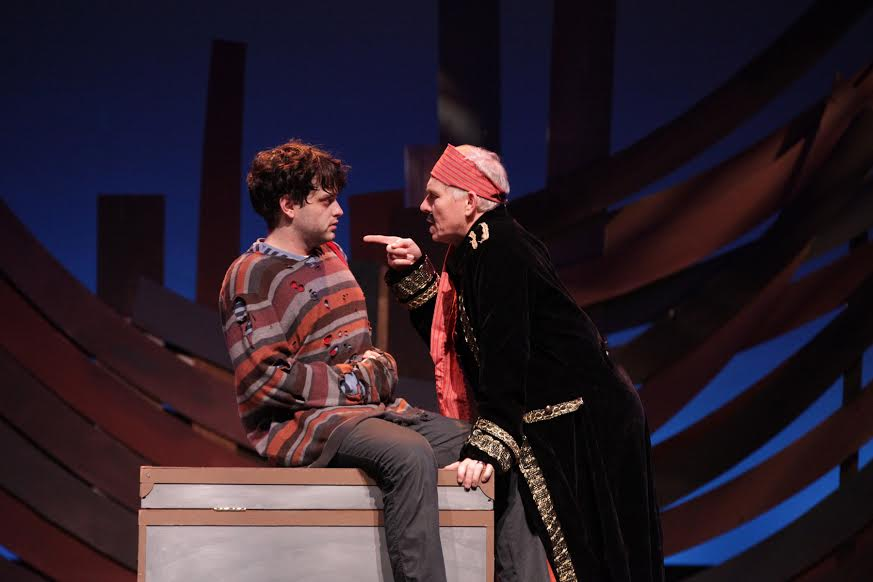 Peter and the Starcatcher struggles to unearth the core of the story of Peter Pan. (Photo by Dan Carmody, Studio 7)