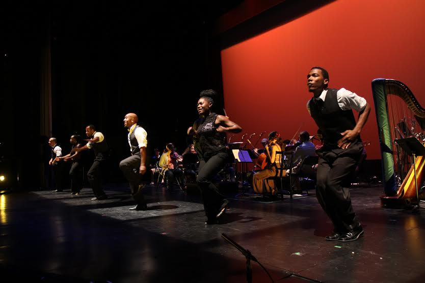 """Step Afrika! brings the art of """"stepping"""" to the National Black Arts Festival."""