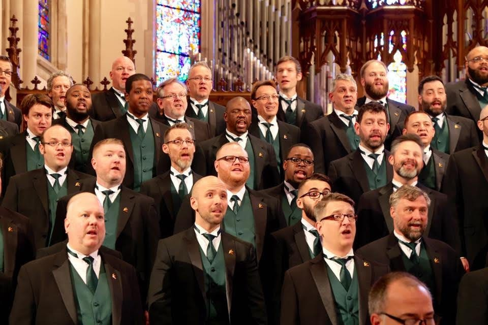 Atlanta Gay Men's Chorus joins forces with the Atlanta Women's Chorus for Voices of Note.