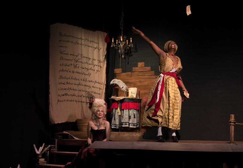 Park Krausen (as Marie Antoinette) and Parris Sarter stand out in The Revolutionist.