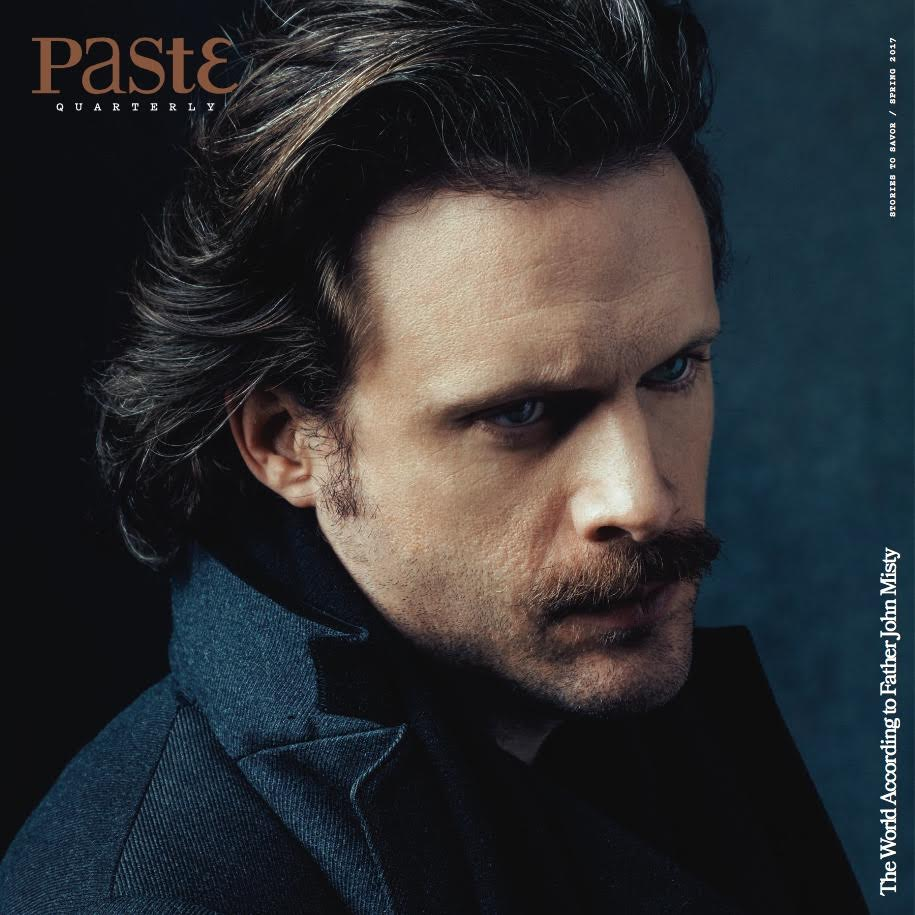 Father John Misty will be the cover story of Paste's first Quarterly publication.
