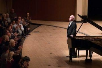Jorge Federico Osorio takes a bow at Symphony Hall in Atlanta.