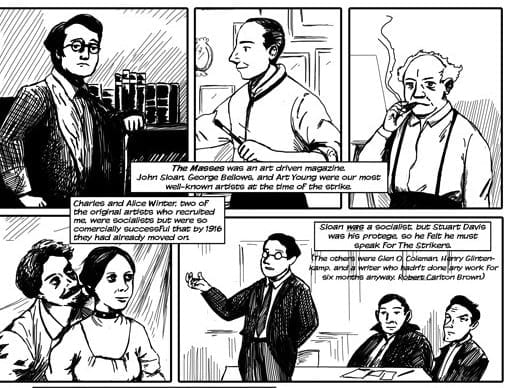 From a graphic novel by Hester Furey and Michael Rovinsky