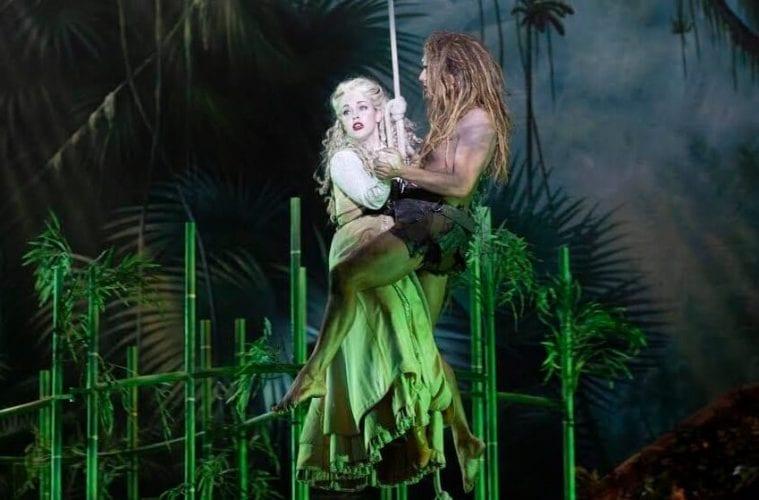 Atlanta Lyric Theatre S Skillful Spin Transforms Well Worn Tarzan