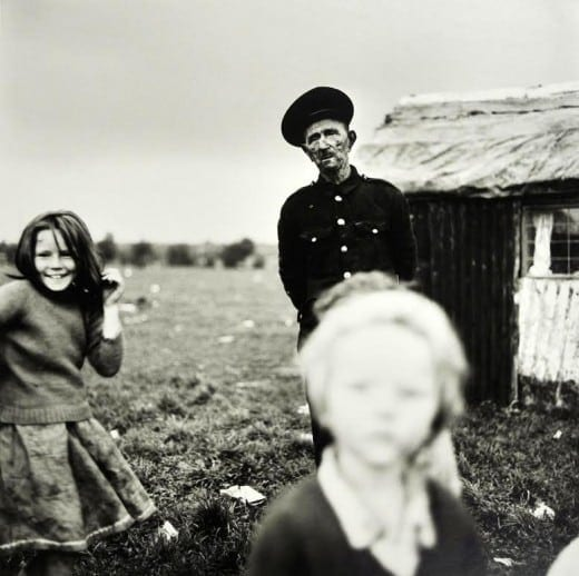 Alen Macweeney: Chimney Sweep & Children, 1965-1966, gelatin silver print.