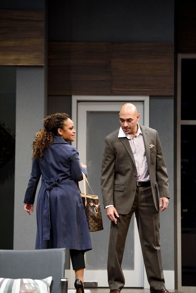 Disgraced works on two levels, as an issue play and as entertainment.