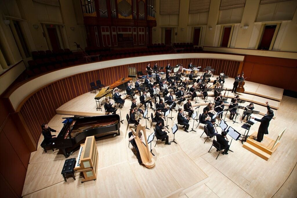 The Emory Wind Ensemble will join with actors from Theater Emory for Saturday's performance.