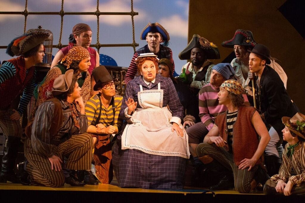 The Pirates of Penzance is a light-hearted production of a classic story. (Photo by Jeff Roffman)