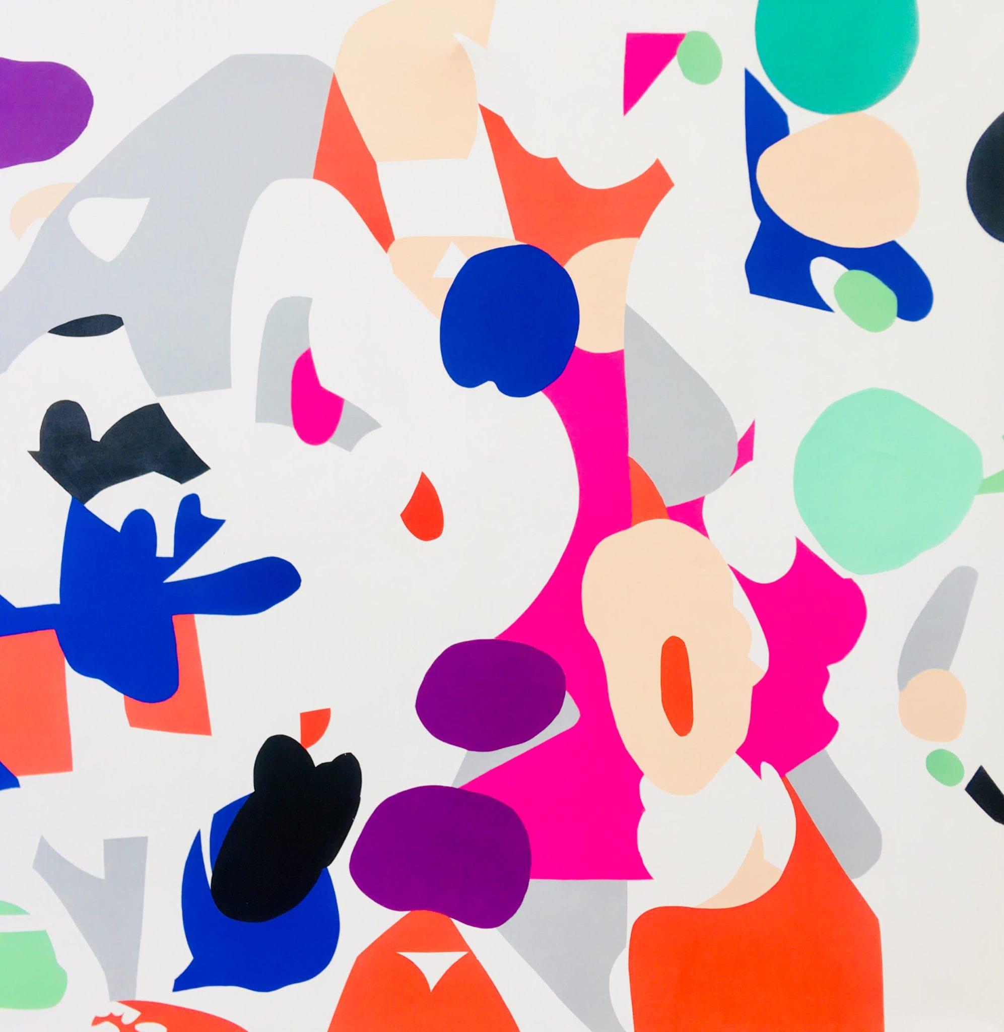 a painting by artist Zuzka Vaclavik