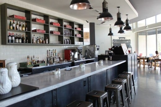 West Egg's stripped-down industrial aesthetic