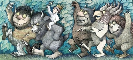 From Maurice Sendak's Where the Wild Things Are.