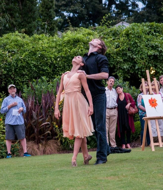 Wabi Sabi made its initial mark with outdoor shows at Atlanta Botanical Gardens. (Photo by Bonnie Moret)