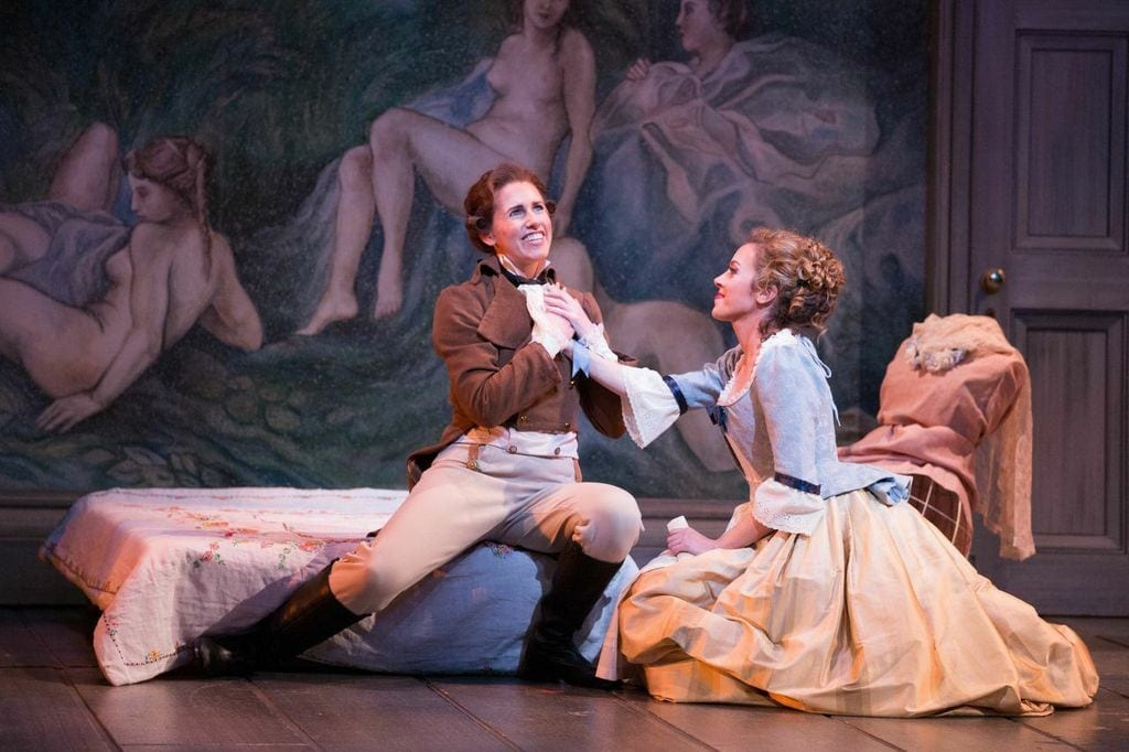 """Young singers rise to the occasion in """"The Marriage of Figaro."""" (Photos by Jeff Roffman)"""